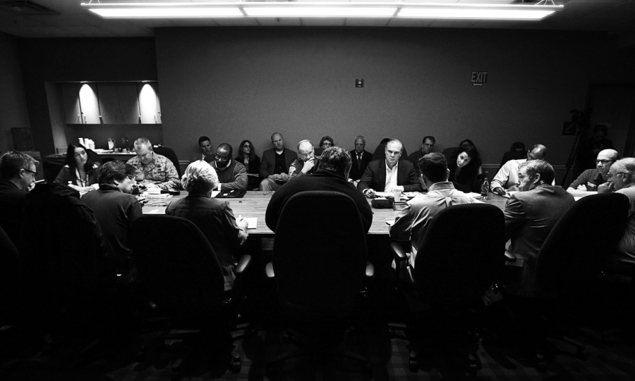 Hurricane Cabinet Meeting