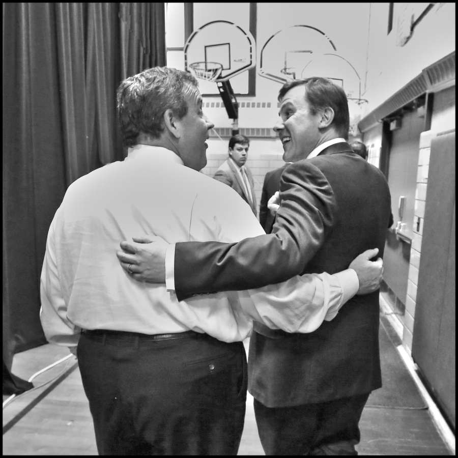 Governor Chris Christie holds his 133rd Town Hall in Kenilworth, N.J. on Tuesday, March 31, 2015. (Governor's Office/Tim Larsen)